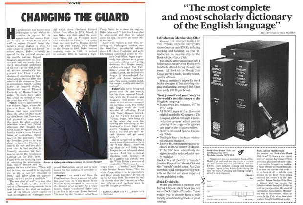 Article Preview: CHANGING THE GUARD, March 1987 | Maclean's