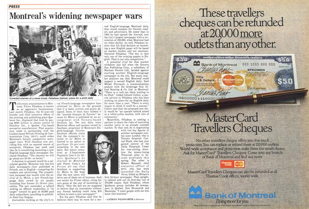 Article Preview: Montreal's widening newspaper wars, March 1987 | Maclean's