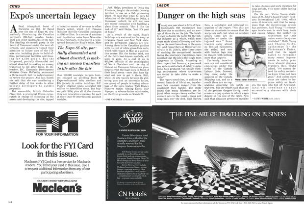 Article Preview: Expo's uncertain legacy, March 1987 | Maclean's