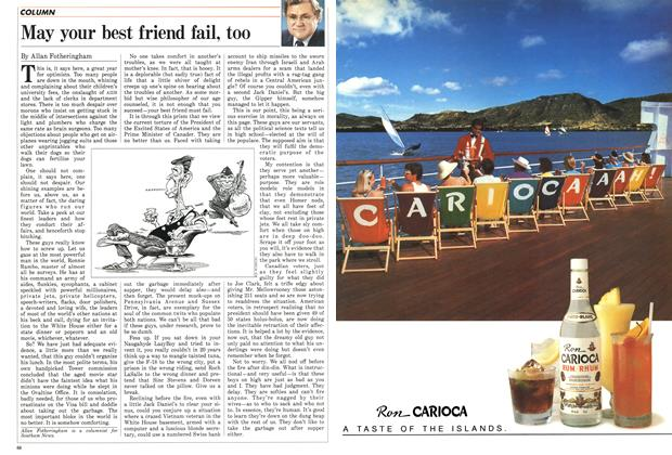 Article Preview: May your best friend fail, too, March 1987 | Maclean's