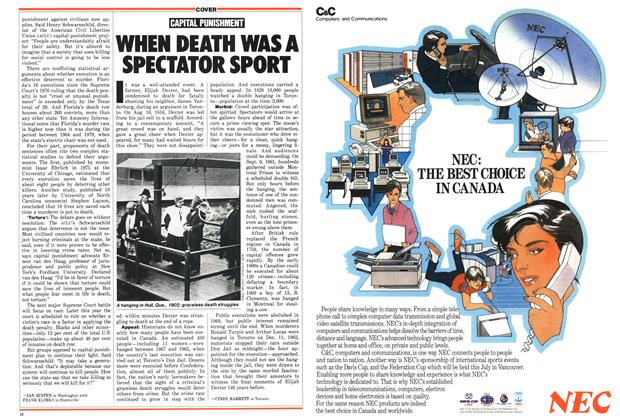 Article Preview: CAPITAL PUNISHMENT, March 1987   Maclean's