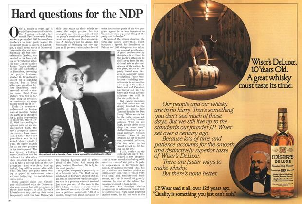 Article Preview: Hard questions for the NDP, March 1987 | Maclean's