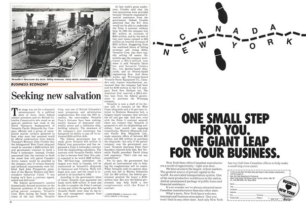 Article Preview: Seeking new salvation, March 1987 | Maclean's