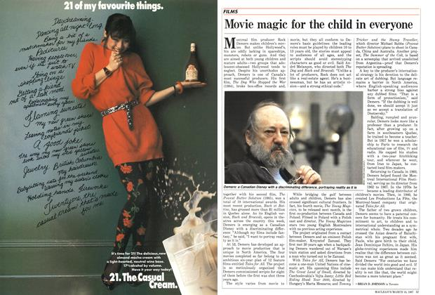 Article Preview: Movie magic for the child in everyone, March 1987 | Maclean's