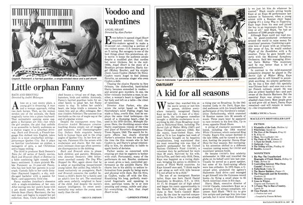 Article Preview: Voodoo and valentines, March 1987 | Maclean's