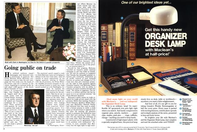 Article Preview: Going public on trade, March 1987 | Maclean's