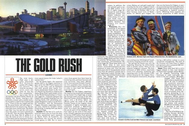 Article Preview: THE GOLD RUSH, March 1987 | Maclean's