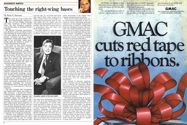Article Preview: Touching the right-wing bases, March 1987 | Maclean's