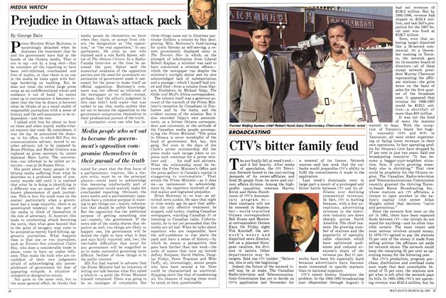 Article Preview: CTV's bitter family feud, March 1987 | Maclean's
