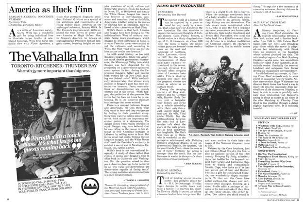 Article Preview: America as Huck Finn, March 1987 | Maclean's