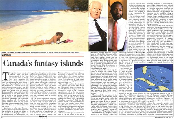 Article Preview: Canada's fantasy islands, March 1987 | Maclean's