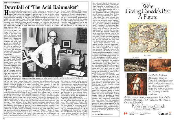 Article Preview: Downfall of 'The Acid Rainmaker', March 1987 | Maclean's