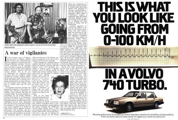 Article Preview: A war of vigilantes, March 1987 | Maclean's