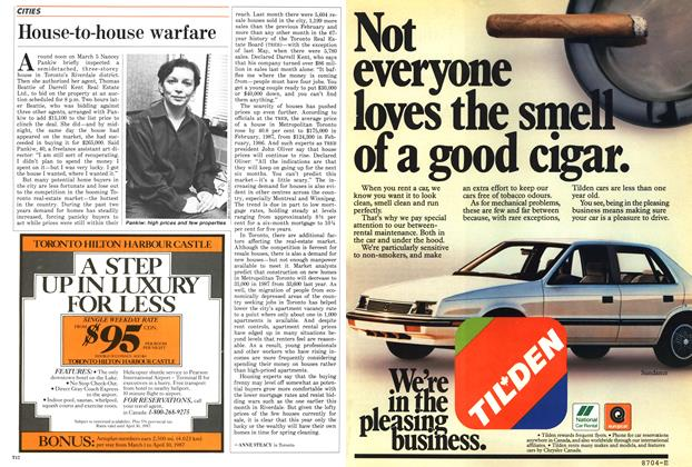 Article Preview: House-to-house warfare, March 1987 | Maclean's