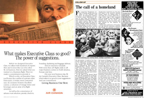 Article Preview: The call of a homeland, March 1987 | Maclean's