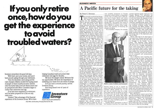 Article Preview: A Pacific future for the taking, April 1987 | Maclean's