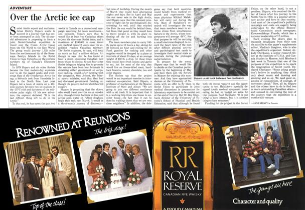 Article Preview: Over the Arctic ice cap, April 1987 | Maclean's