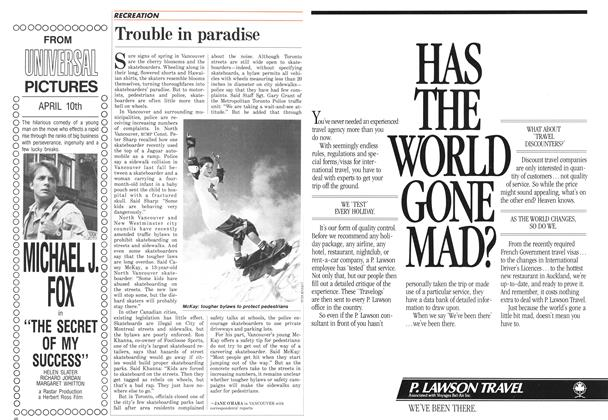 Article Preview: Trouble in paradise, April 1987 | Maclean's