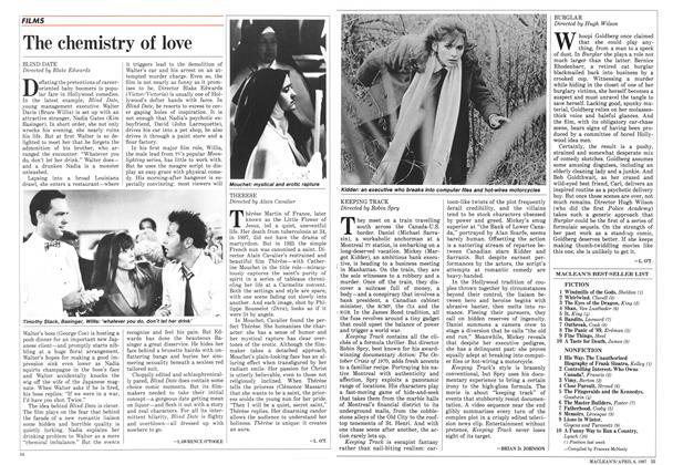Article Preview: The chemistry of love, April 1987 | Maclean's