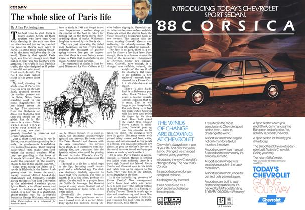 Article Preview: The whole slice of Paris life, April 1987 | Maclean's