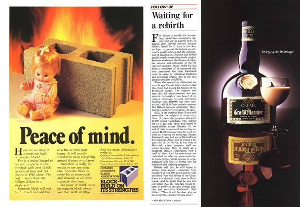 Article Preview: Waiting for a rebirth, April 1987   Maclean's