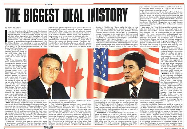 Article Preview: THE BIGGEST DEAL INISTORY, April 1987 | Maclean's