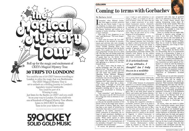 Article Preview: Coming to terms with Gorbachev, April 1987 | Maclean's