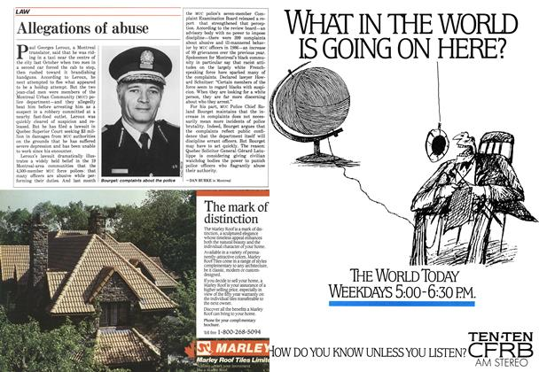 Article Preview: Allegations of abuse, April 1987 | Maclean's