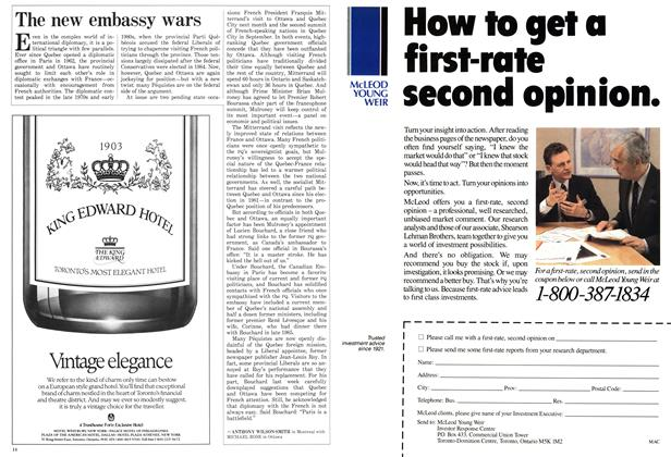 Article Preview: The new embassy wars, April 1987 | Maclean's