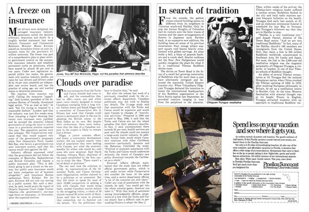 Article Preview: In search of tradition, May 1987 | Maclean's