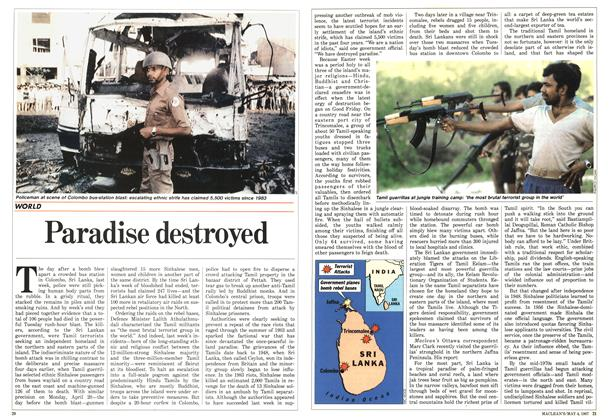 Article Preview: Paradise destroyed, May 1987 | Maclean's