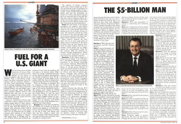 Article Preview: FUEL FOR A U.S. GIANT, May 1987 | Maclean's