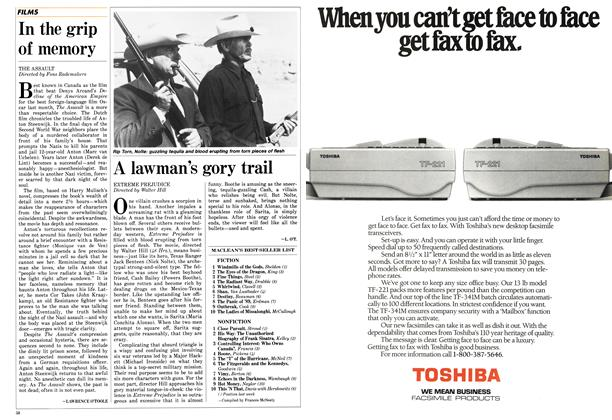 Article Preview: A lawman's gory trail, May 1987 | Maclean's