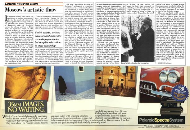 Article Preview: Moscow's artistic thaw, May 1987 | Maclean's