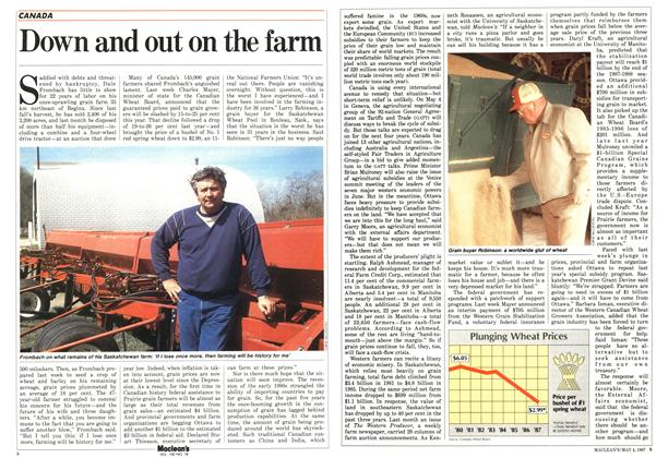 Article Preview: Down and out on the farm, May 1987 | Maclean's