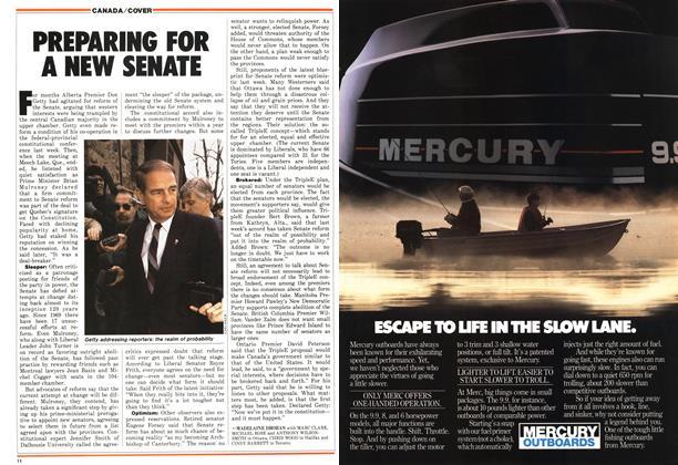 Article Preview: PREPARING FOR A NEW SENATE, May 1987 | Maclean's