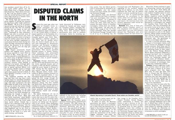 Article Preview: DISPUTED CLAIMS IN THE NORTH, May 1987 | Maclean's