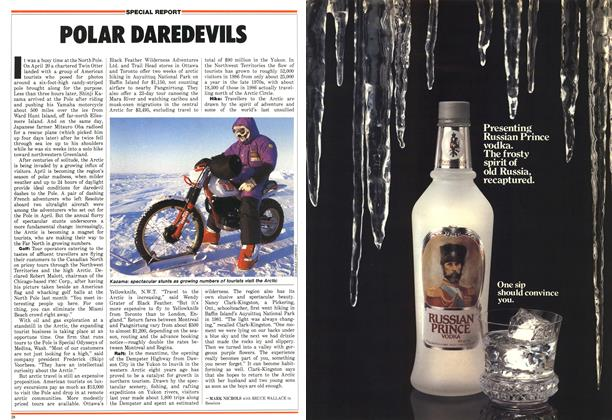 Article Preview: POLAR DAREDEVILS, May 1987 | Maclean's