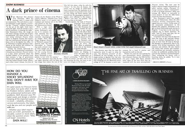 Article Preview: A dark prince of cinema, May 1987 | Maclean's