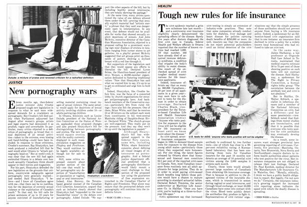 Article Preview: Tough new rules for life insurance, May 1987 | Maclean's