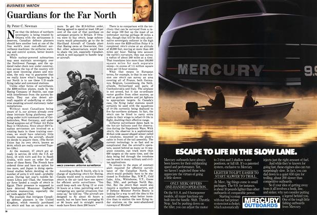 Article Preview: Guardians for the Far North, May 1987 | Maclean's