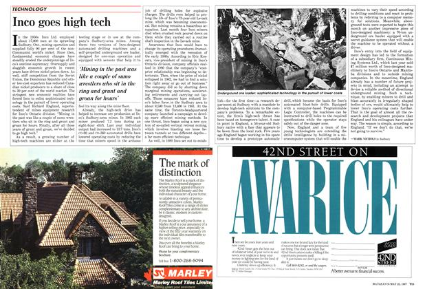 Article Preview: Inco goes high tech, May 1987 | Maclean's
