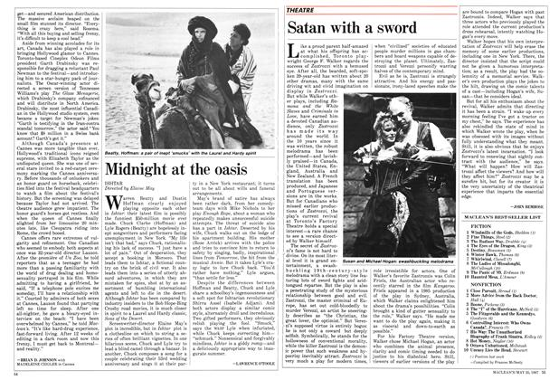 Article Preview: Satan with a sword, May 1987 | Maclean's