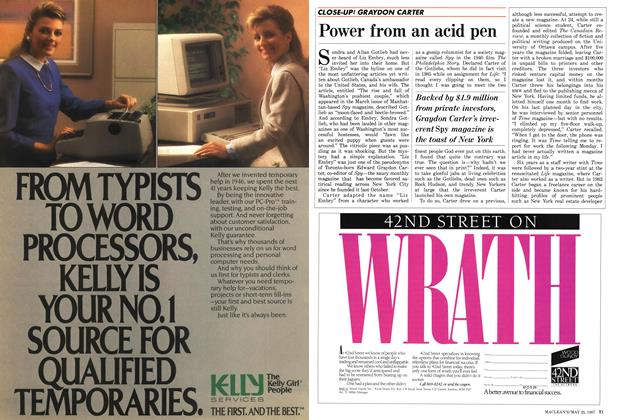 Article Preview: Power from an acid pen, May 1987 | Maclean's