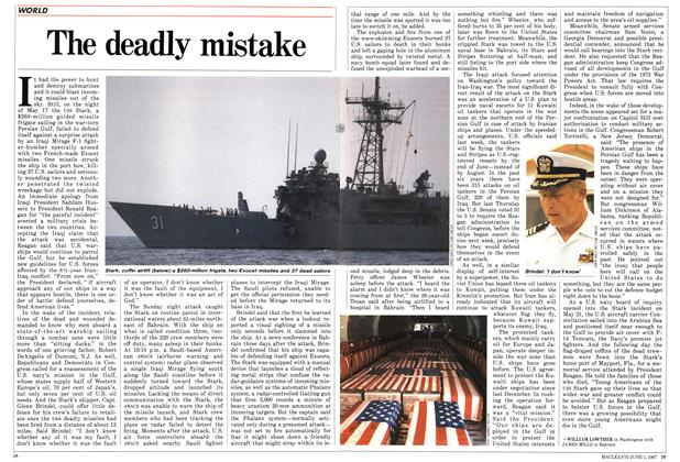 Article Preview: The deadly mistake, June 1987 | Maclean's