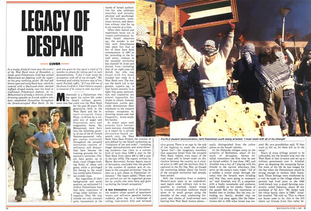 Article Preview: LEGACY OF DESPAIR, June 1987 | Maclean's