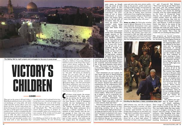 Article Preview: VICTORY'S CHILDREN, June 1987 | Maclean's