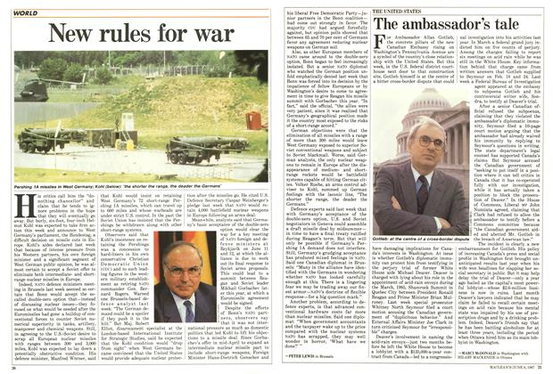 Article Preview: The ambassador's tale, June 1987 | Maclean's