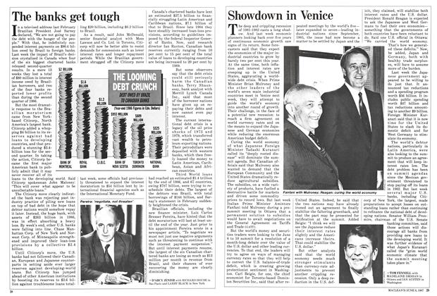 Article Preview: The banks get tough, June 1987 | Maclean's