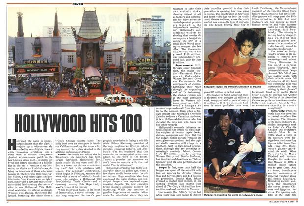 Article Preview: HOLLYWOOD HITS 100, June 1987 | Maclean's